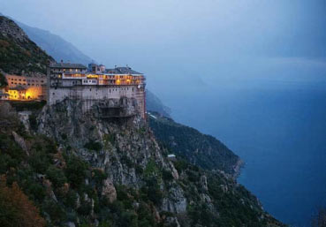 Monastery on Mount Athos.